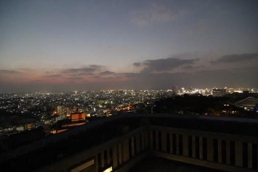 西のアザナからの夜景