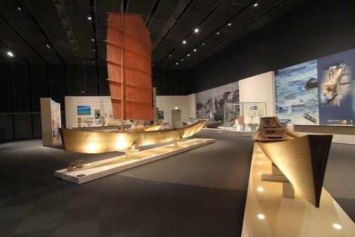 船の展示物
