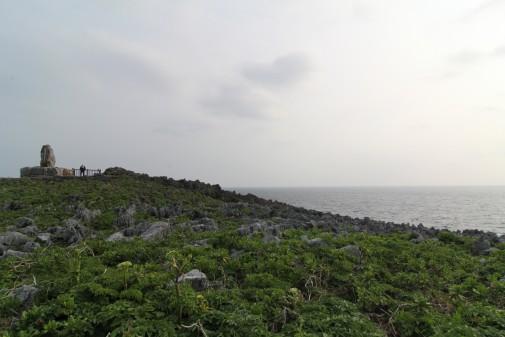 辺戸岬からの景色