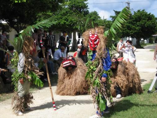 獅子舞を使った祭事
