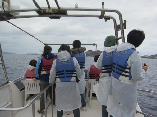 船の上の人々