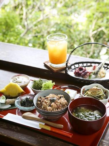 山の茶屋の料理1