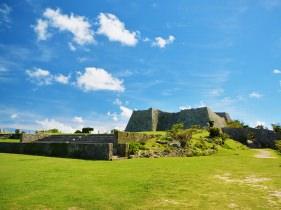 中城城跡の全貌