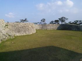 城内の景色