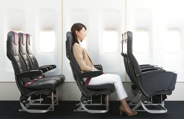 JALのクラスJ横から見たイメージ