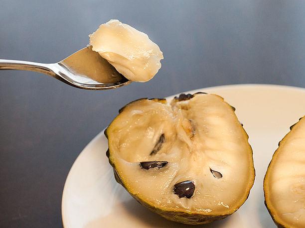 アテモヤ、糖度が高い南国フルーツ