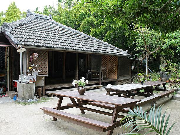 ちゃんやーは琉球的な伝統家屋