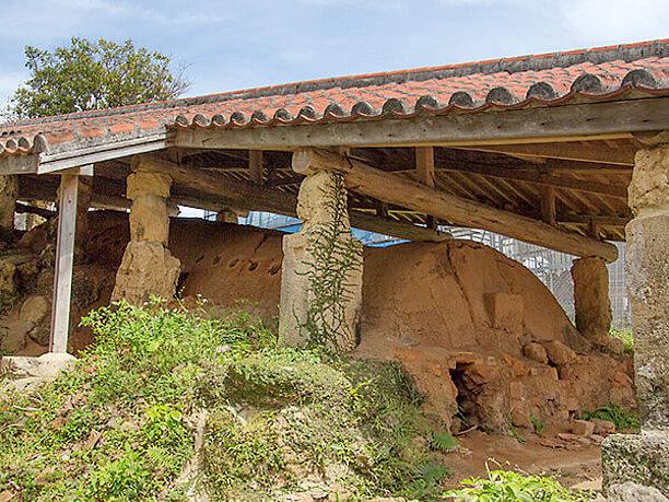 登り窯の南窯(フェーヌカマ)