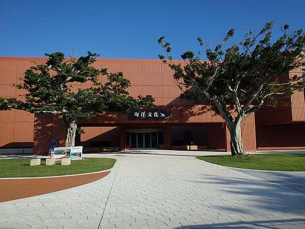 ユニークな博物館の外観