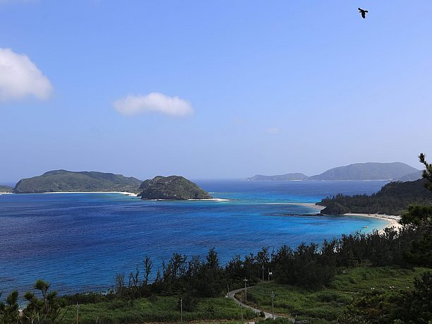 古島一番人気の座間味(ふるざまみ)ビーチ