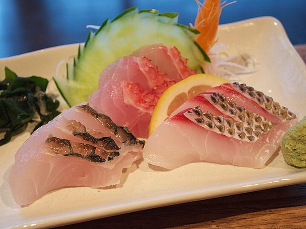 地魚刺身3種盛り