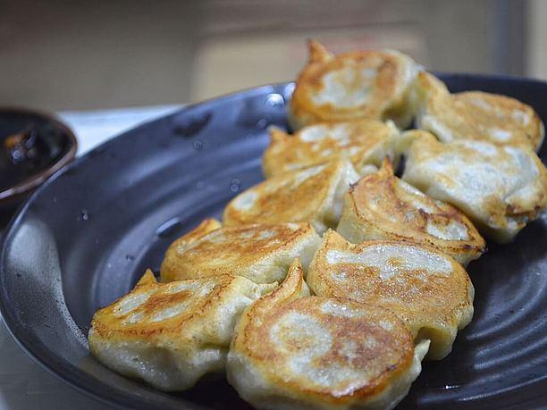 便利屋の焼き餃子