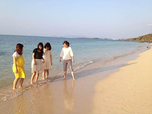 沖縄県民ビーチでの過ごし方