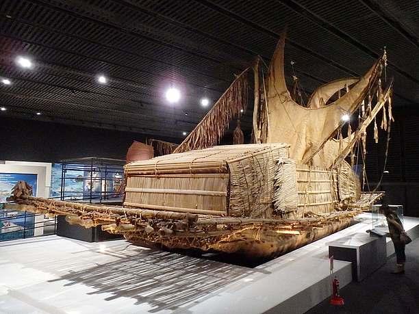 ラカトイと呼ばれる交易船