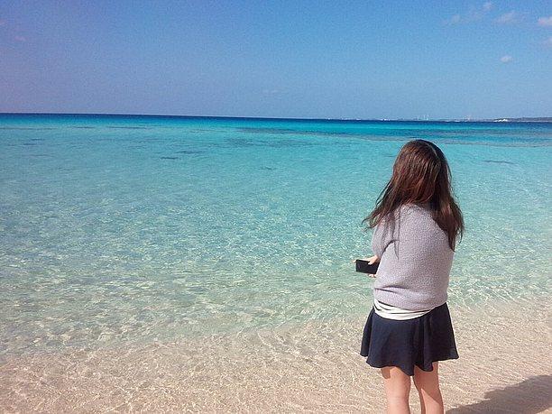 沖縄県民のビーチでの過ごし方