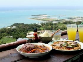 海カフェのお食事セット