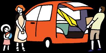 トランクの大きい車