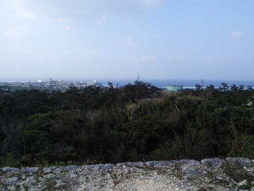 座喜味城からの景色