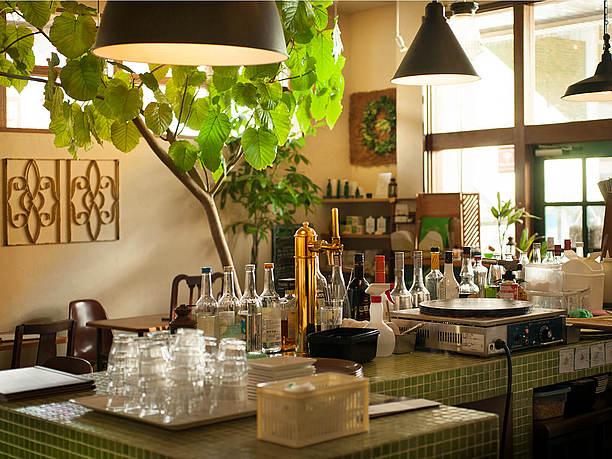 石垣島の食材を利用した創作料理が楽しめる「ユーグレナ・ガーデン」