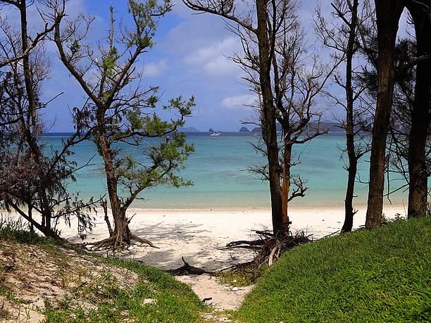 東の最終地点にある『唐馬(トウマ)の浜』