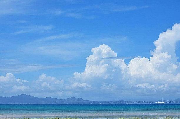 夏真っ盛りの沖縄