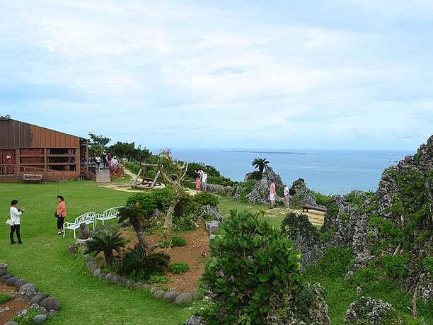 絶景カフェ「くるくま」からの眺め