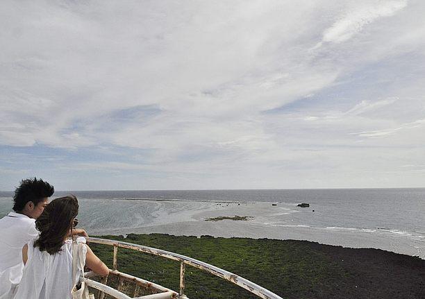 岬ならではの醍醐味の景色