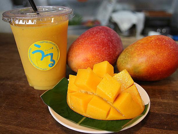 宮古島を代表するフルーツの アップルマンゴー