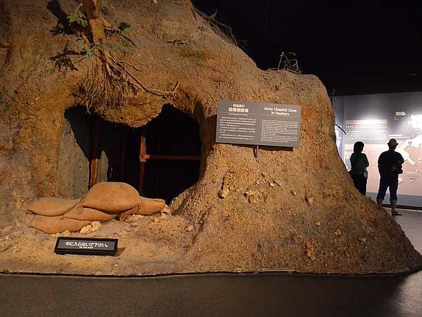 第2展示室は「ひめゆりの戦場」