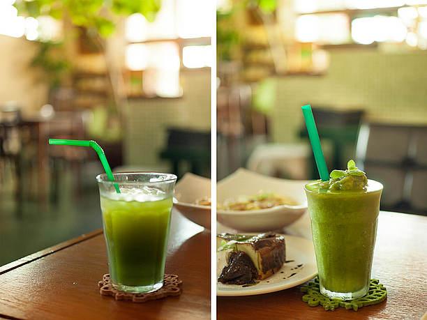 ユーグレナを水で割ったシンプルなドリンク「緑汁(みどりじる)」