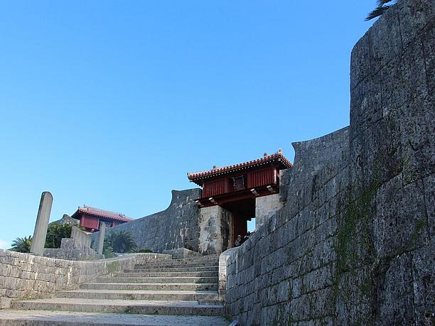 首里城の正門、歓会門