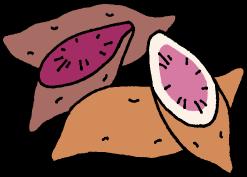 持ち出しが禁止されている紅芋