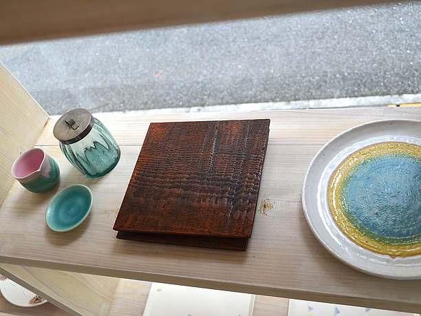ハンドメイドの陶器・グラス・木製品達