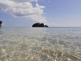 透明度が高いムルク浜