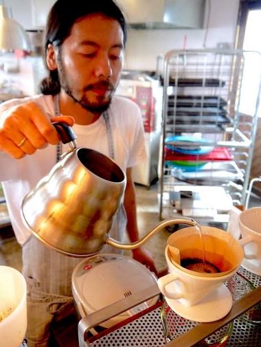 ドリップでいれるコーヒー