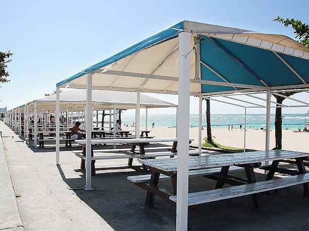事前予約でビーチBBQができる場所