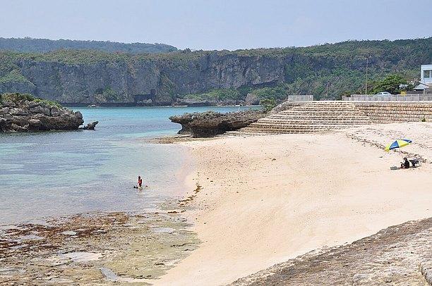 伊計島のビーチ