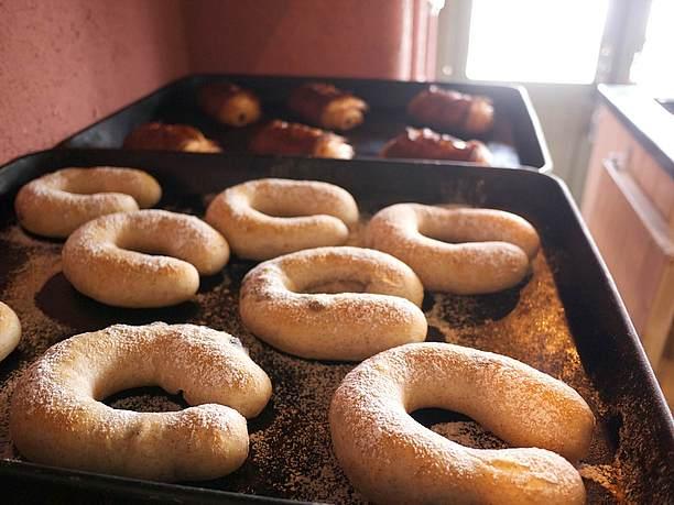 黒豆を使ったパン