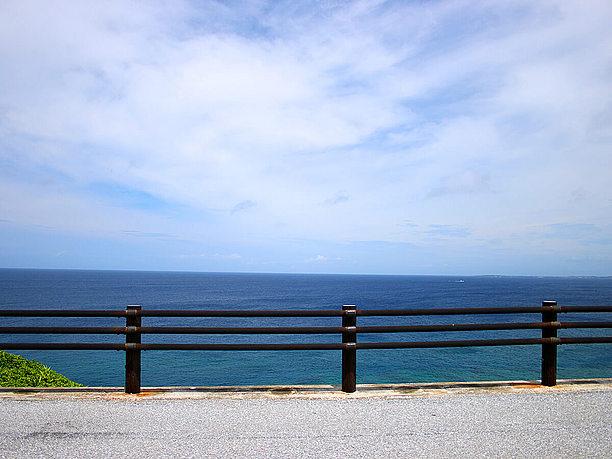 水平線を眺められる 海岸線沿い