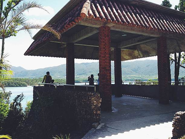 川平公園の展望台
