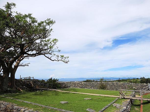 城跡の中心部「主郭」