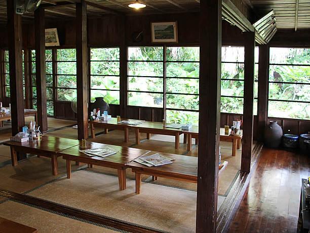 木造平屋の畳敷