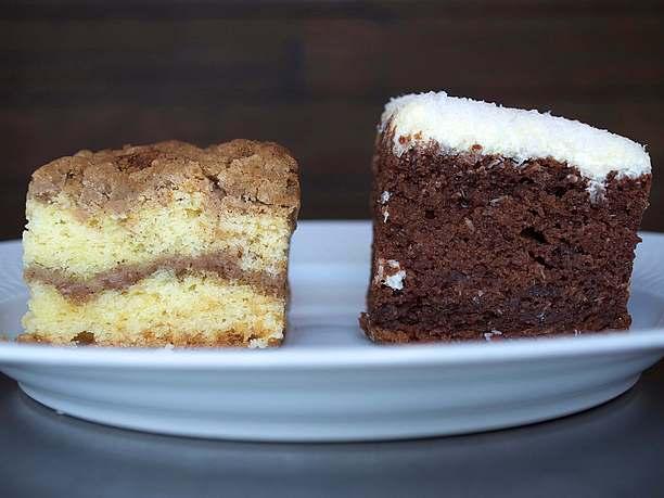 コーヒーケーキとジャーマンケーキ