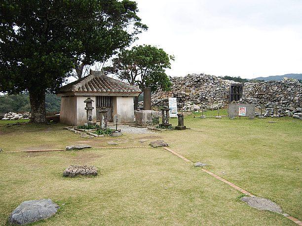 城跡の中心部「主郭」本丸とも呼ばれる