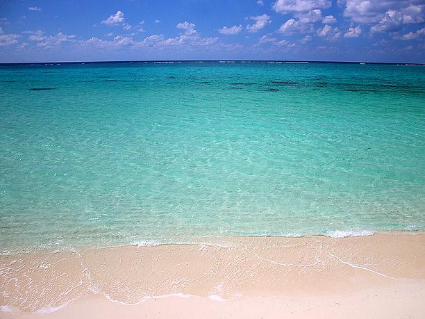 済んだ美しい海
