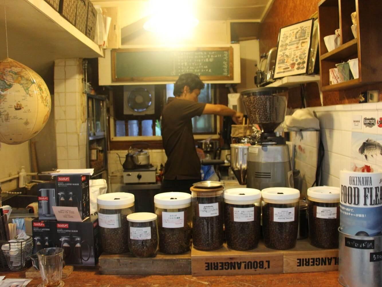 コーヒースタンド「potohoto(ぽとほと)」