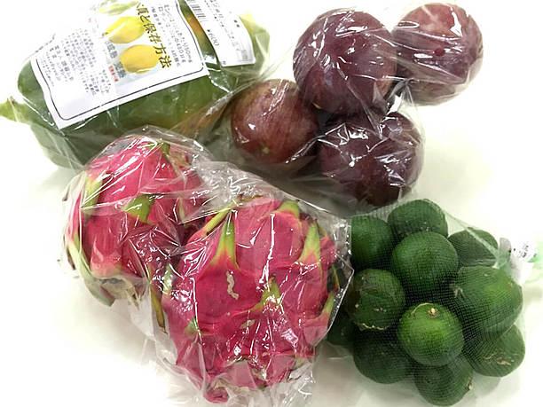4種類のフルーツ