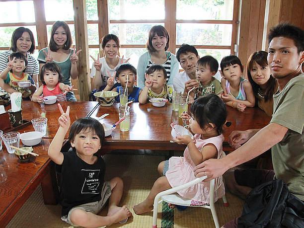 東京から来た15名のご家族