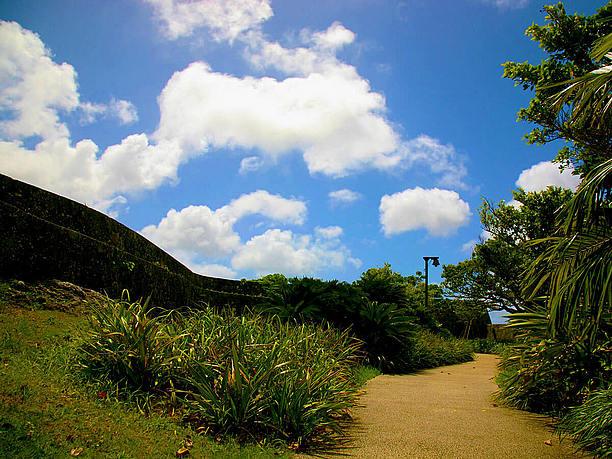 とても広い首里城公園の敷地