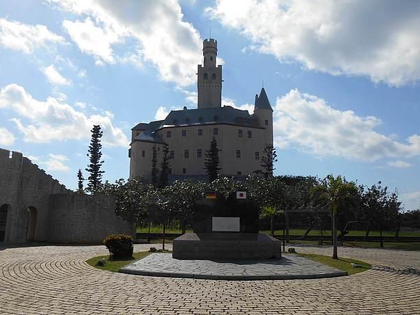 古城マルクスブルグ城を再現したお城